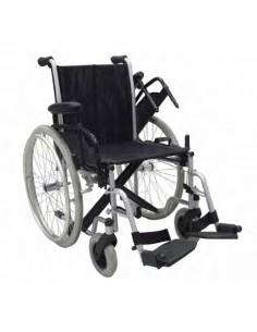 Sedie a rotelle pieghevoli per anziani e disabili for Larghezza sedia a rotelle
