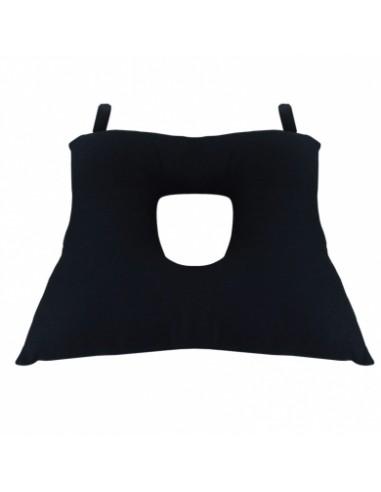 Cuscino Antidecubito In Fibra Cava Siliconata.Cuscino Antidecubito In Fibra Cava Siliconata Con Foro Centrale