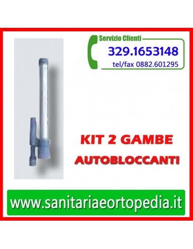 3ff7866bbee1 Kit 2 gambe con sistema autobloccante - Sanitaria e Ortopedia