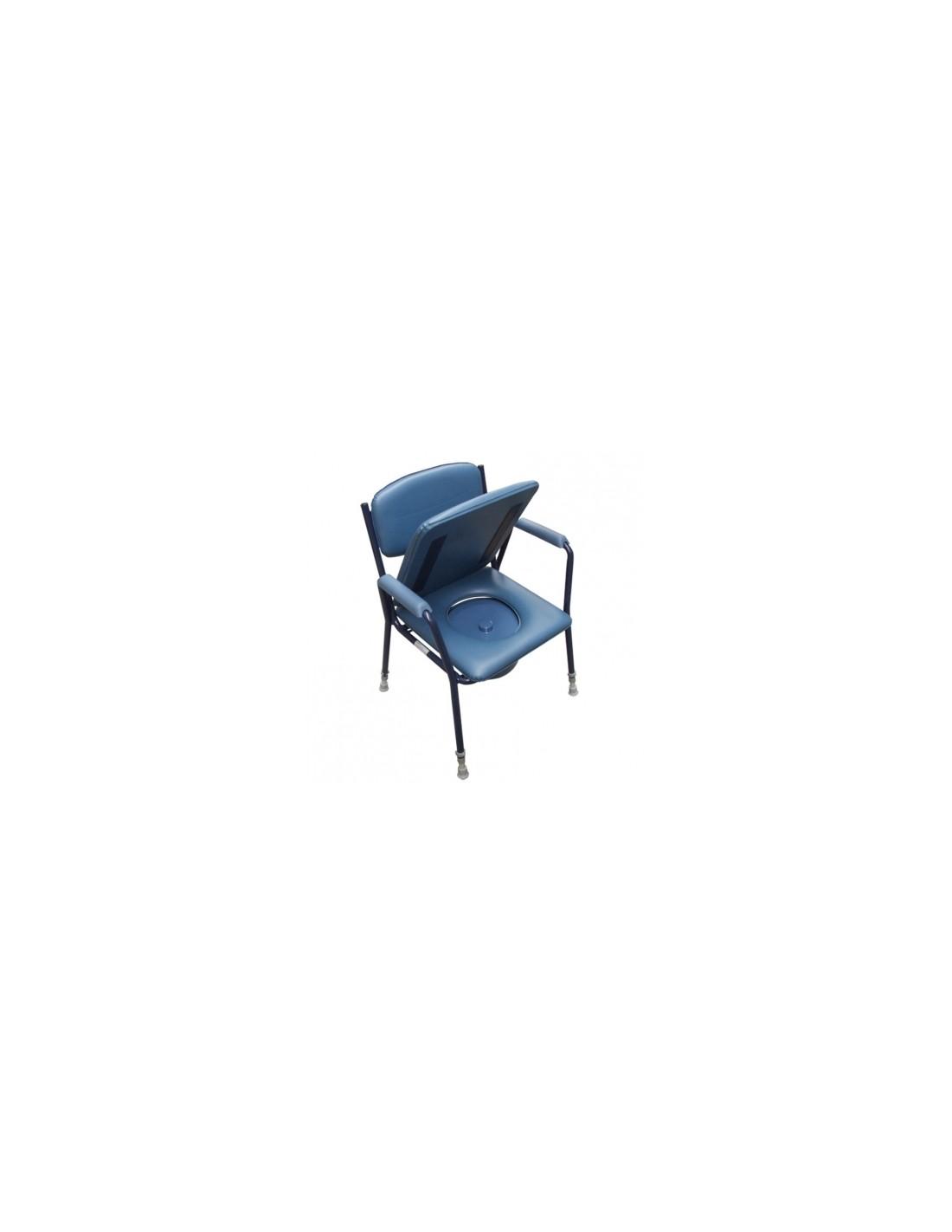 Sedia da comodo regolabile in altezza sanitaria e ortopedia for Altezza sedia