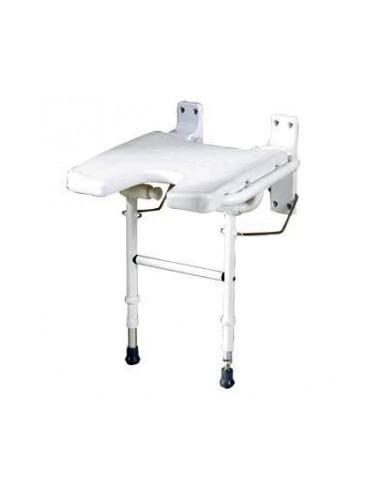 Sedile a muro per doccia con gambe sanitaria e ortopedia for Doccia a muro