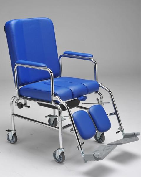 carrozzina con ruote comoda con wc vc100 - sanitaria e ortopedia