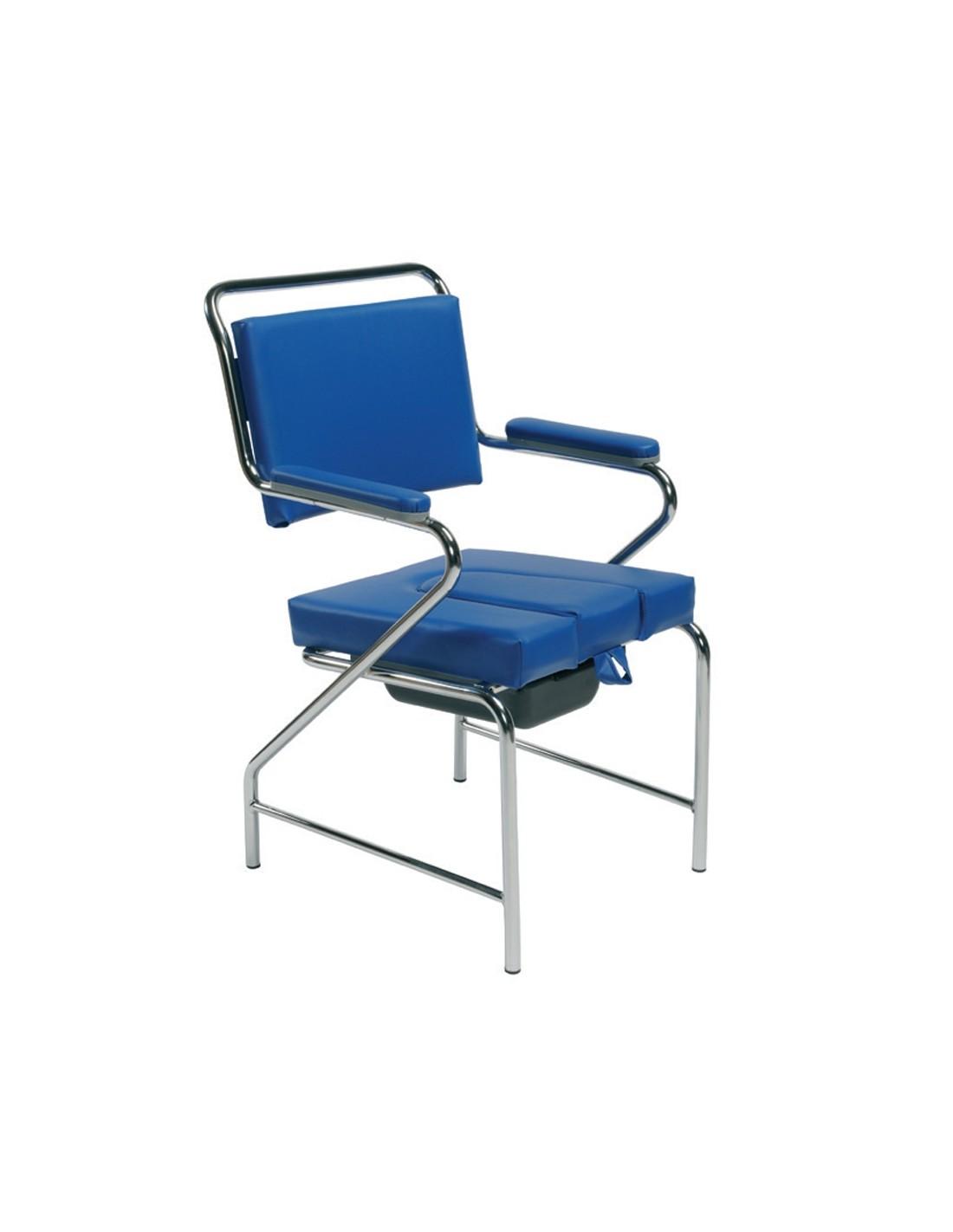 SEDIA COMODA CON WC VC 001 - Sanitaria e Ortopedia