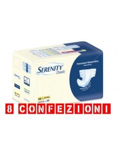 Serenity Classic Pannolone Mutandina M Extra 8 Confezioni