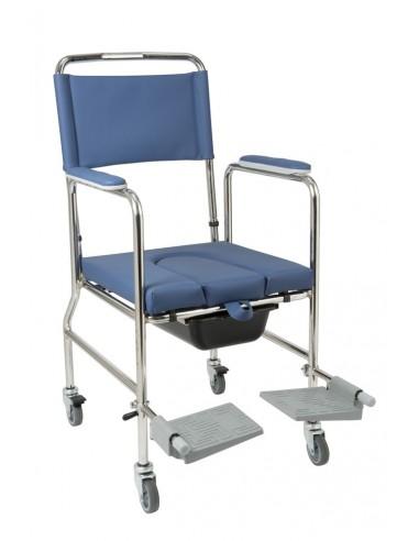 SEDIA A ROTELLE COMODA CON WC VC 002 - Sanitaria e Ortopedia