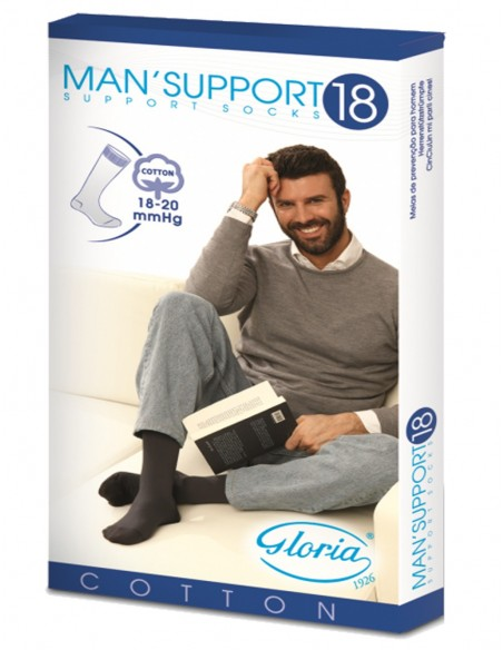 Man Support 18 Gambaletto Cotone