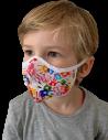 Mascherine pediatriche per bambini colorate e personalizzabili